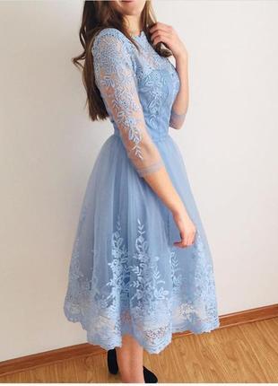 Шикарное красивое платье