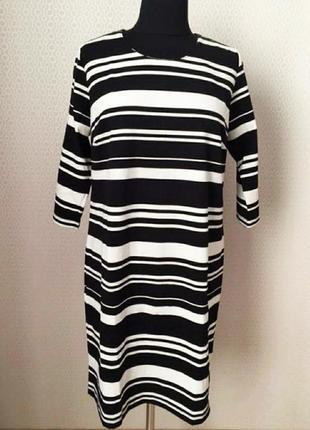 Базовое платье в полоску, наш 50-52
