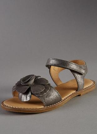 Кожаные сандалии босоножки m&s, размер 9