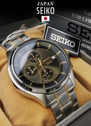 - 42% | мужские часы хронограф seiko chronograph sks543p1 (оригинальные, новые с биркой)