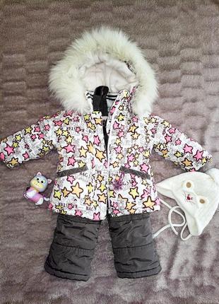 Зимний комбинезон куртка kiko 74 +6