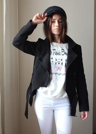 Очень крутое шерстяное пальто пиджак