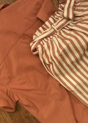 Комплект блуза и шорты