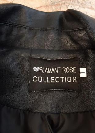 Удлиненная куртка косуха, плащ тренч от flamant rose7 фото
