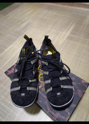 Кроссовки замшевые clarks р 381 фото