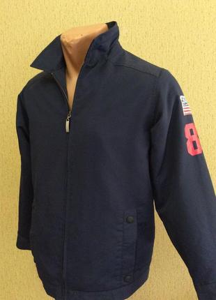 Детская куртка винтаж tommy hilfiger оригинал размер 10 лет