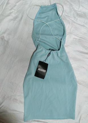Кокетливое платье baby blue