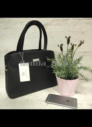 Женская сумка небольшого размера d-9803 черная
