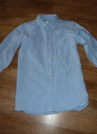 Рубашка геп gap на 12 лет, плотный котон, сделана в индонезии