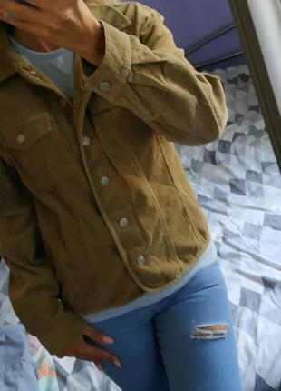 Классная вельветовая куртка