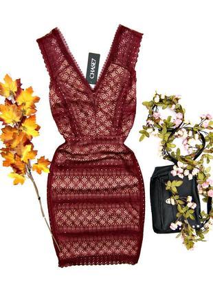 Кружевное платье нарядное