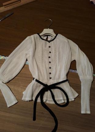 Блузка на девочку 1-2класс