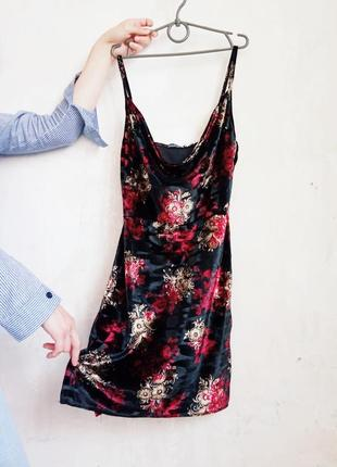 Новое вельветовое платье от boohoo