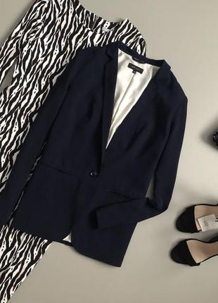 Идеальный базовый блейзер / удлиненный пиджак new look