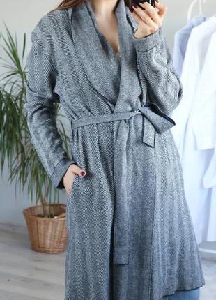 Пальто на запах, кардиган1 фото