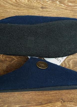 Тапочки шлепанцы войлок livergy германия4 фото