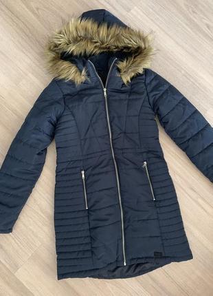 Пальто женское vero moda демисезонное куртка с капюшоном