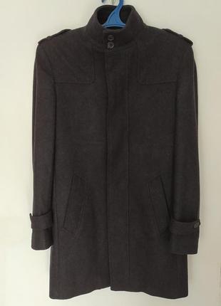 Крутое брендовое шерстяное пальто burton