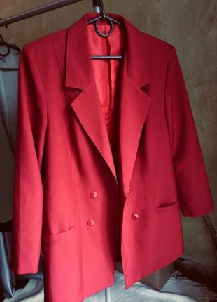 Идеальный пиджак двубортный oversize винтаж жакет блейзер