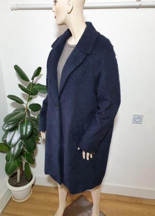 Итальянское пальто с шерстью альпаки gil bret3 фото