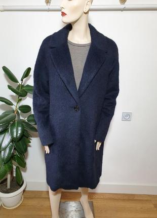 Итальянское пальто с шерстью альпаки gil bret