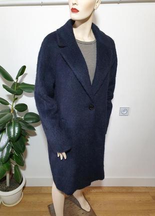 Итальянское пальто с шерстью альпаки gil bret2 фото
