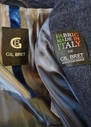 Итальянское пальто с шерстью альпаки gil bret8 фото