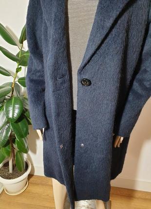 Итальянское пальто с шерстью альпаки gil bret4 фото