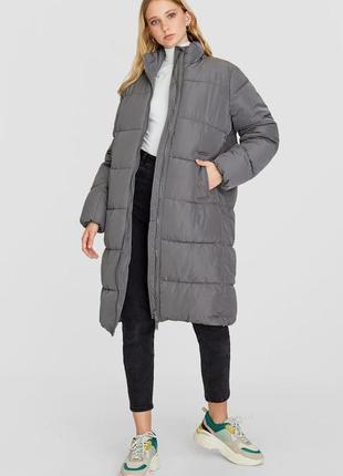 Куртка пуховик пальто stradivarius