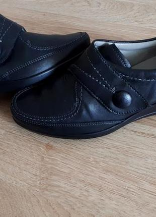 Мокасины туфли полуботинки ara р.38