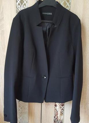 Базовый черный жакет / повседневный пиджак