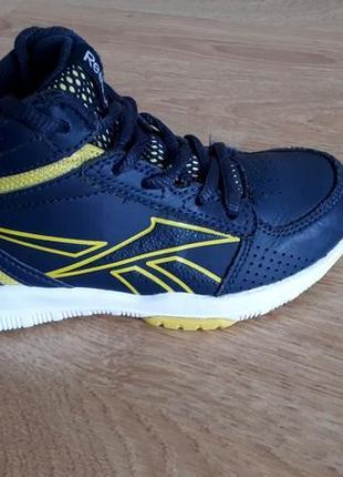 Высокие кроссовки ботинки reebok р.27 оригинал