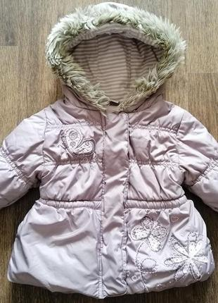 Стильная куртка next 12-18 мес 86 см