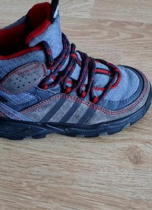 Высокие кроссовки ботинки adidas climaproof gore tex р.23 оригинал