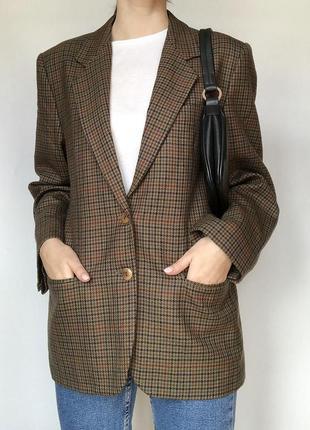 Нереальный двубортный жакет oversize elizabeth ascot (пиджак)
