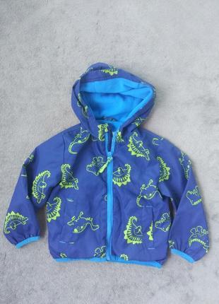 Куртка вітровка на 12-18 м утеплена