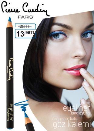 Стойкий карандаш для глаз pierre cardin skyfall/синий