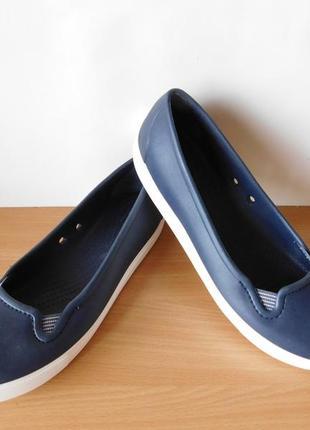 Кроксы, балетки crocs w9 (39-40р) стелька 26 см3 фото