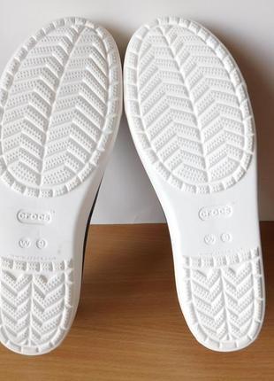 Кроксы, балетки crocs w9 (39-40р) стелька 26 см9 фото