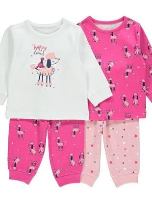 Комплект пижам george не утепленная пижама