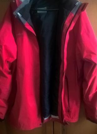 Наш 54 р._куртка с прикрепляемой ветровкой (2 в 1) -хl-ххl размер