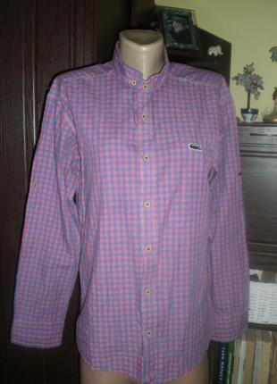 Шикарна модна рубашка (клітинка) дизайнера roberto cavalli