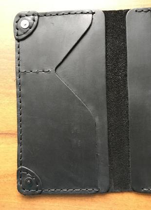 Кожаное мужское портмоне,мужской кошелек кожа,чоловічий гаманець клатч7 фото