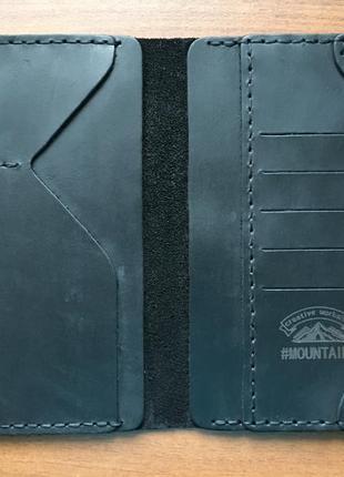Кожаное мужское портмоне,мужской кошелек кожа,чоловічий гаманець клатч5 фото