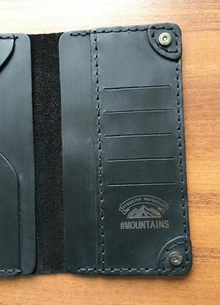 Кожаное мужское портмоне,мужской кошелек кожа,чоловічий гаманець клатч8 фото