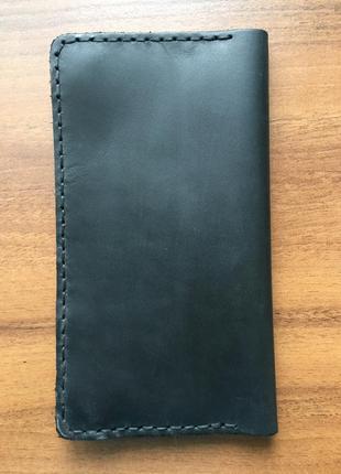 Кожаное мужское портмоне,мужской кошелек кожа,чоловічий гаманець клатч10 фото