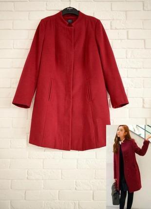 Стильное  пальто m&s uk10 в отличном состоянии