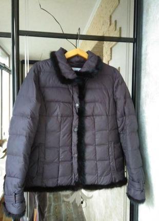 Очень теплая куртка на пуху mirage-mv