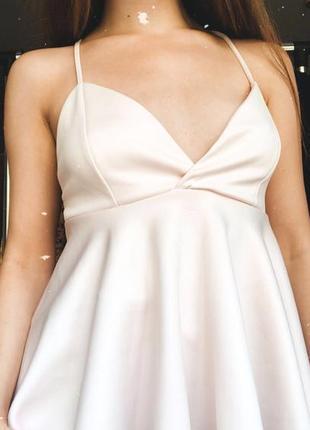 Ніжно-рожева блуза на бретелях tally weijl з v-образним вирізом🌸