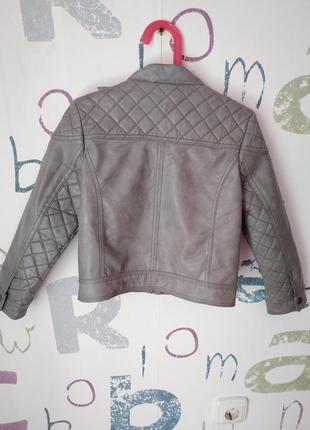 Куртка-бомбер palomino крутая девочка 6-7 лет (116см) в идеале